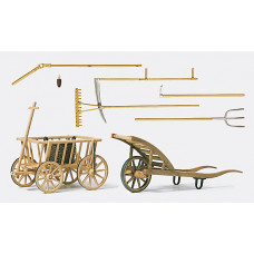 Preiser 45212 - Farming tools