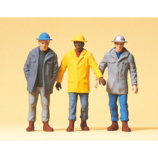 Preiser 63051 - Men In Hardhats 3/