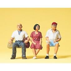 Preiser 63054 - Travelors sitting