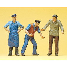Preiser 63060 - Delivery men 1:32      3/