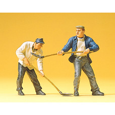 Preiser 63062 - Construction workers 1:32