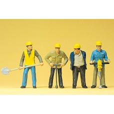 Preiser 63065 - Track workers 1:32