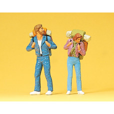 Preiser 63072 - Young travelers 1:32