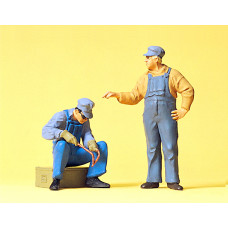 Preiser 63077 - Track Workers USA 1:32