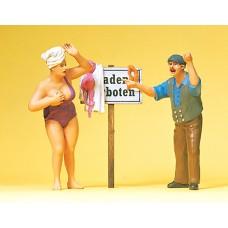 Preiser 63091 - No Swimming