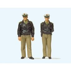 Preiser 63100 - Standng FRG Police Grn 2/