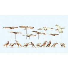 Preiser 63335 - Bird Assortment Unptd