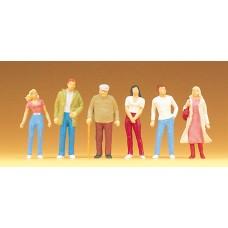Preiser 68203 - People standing 1:50 6/