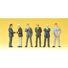 Preiser 68213 - Businessmem In Suit 6/