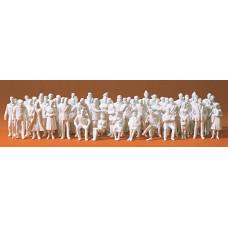 Preiser 68290 - Figures Unpntd 1:50 60/