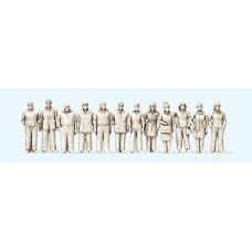 Preiser 68291 - Standing People Unpt 12/
