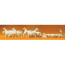 Preiser 72511 - Horses/Cows/Sheep Unp 22/