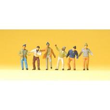 Preiser 74008 - Workers 1:100 6/