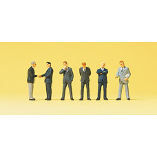 Preiser 74010 - Businessmen Suit 1:100 6/
