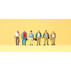 Preiser 74012 - Factory workers 1:100  6/