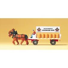 Preiser 79478 - Brewery wagon
