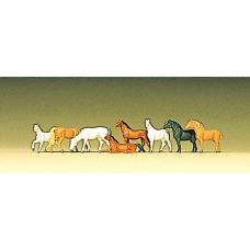 Preiser 88578 - Horses 8/