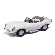 Ricko 38123 - Jaguar XKSS Cabrio weiss/white