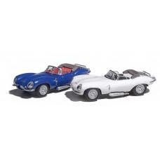 Ricko 38323 - Jaguar XKSS Cabrio blau/blue