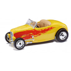 Ricko 38497 - 32 Ford Hot Rod Roadster gelb/yellow