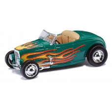 Ricko 38597 - 32 Ford Hot Rod Roadster grün/green