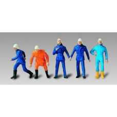 Vollmer 42215 - German firemen set #1  5/