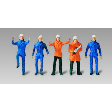 Vollmer 42216 - German firemen set #2  5/