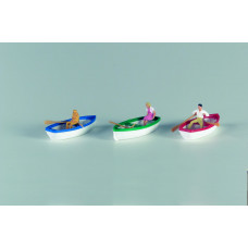 Vollmer 42225 - Rowboats w/Passenger 3/