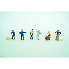 Vollmer 42294 - Delivery Men w/Loads 6/