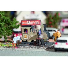Vollmer 42419 - Chestnut Booth Kit Maroni