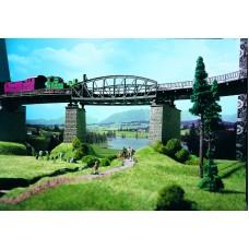 Vollmer 42540 - Girder Bridge Crv 40mm Tk