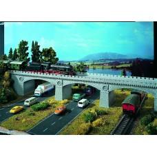 Vollmer 42551 - Bridge gray Brick