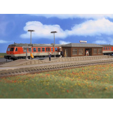 Vollmer 43549 - Platform Niederau w/Hall
