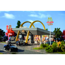 Vollmer 43634 - McDonald's w/McDrive Kit
