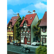Vollmer 43672 - Half Timbered House white