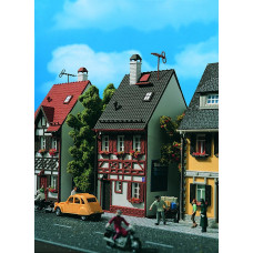 Vollmer 43673 - Half Timbered House grey