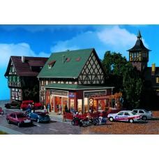 Vollmer 43681 - Pizza restaurnt w/terranc
