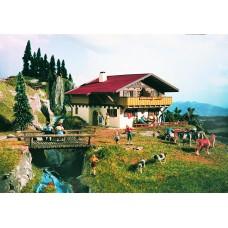 Vollmer 43702 - Alpine house-chalet kit
