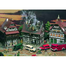 Vollmer 43728 - Burning house