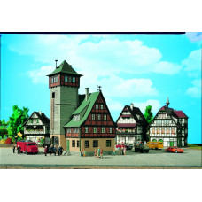 Vollmer 43752 - Fire station w/tower