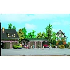Vollmer 43757 - 3-Door garage