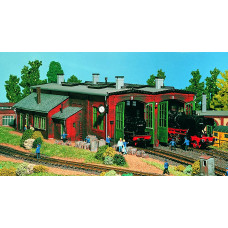 Vollmer 45752 - 2-Stall engine house kit
