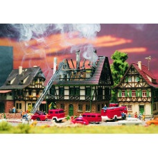 Vollmer 47738 - Burning house