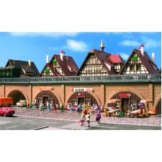Vollmer 47818 - Arcades/Shop/Tavern/Kiosk