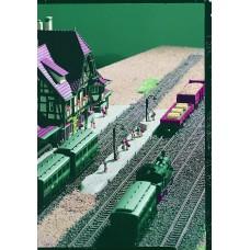 Vollmer 49525 - Highland sta platform  2/