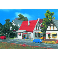 Vollmer 49574 - White House w/Red Roof
