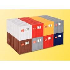 Kibri 10924 - 20' Container set      8/