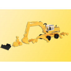 Kibri 11264 - Liebherr 922 w/Attachment