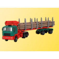 Kibri 12271 - MAN Log Transport w/Crane