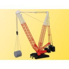 Kibri 13013 - Twin Lttc Crane w/Ctpllr